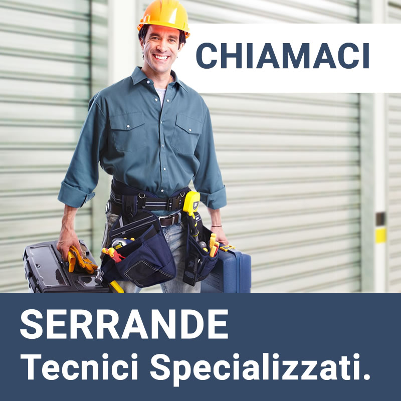 Serrande Marconi - Chiama i nostri tecnici per qualsiasi tipo di intervento che serve alla tua serranda